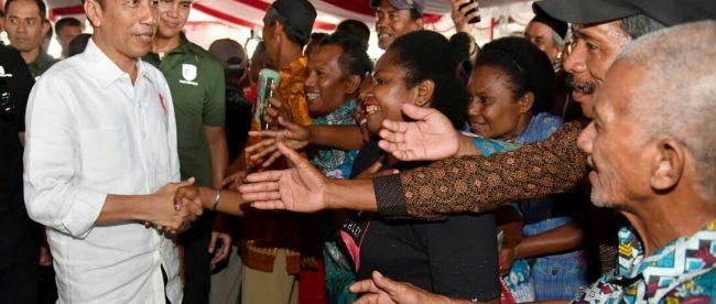 Kunjungan Presiden Joko Widodo ke Jayapura, Papua 11/4 (dok. KM)