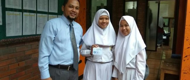 Kepsek SMP Sulthon, Najibur Rahman (dok. KM)