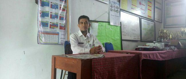 Ridwan Slamet, Kepala Sekolah SMPN 1 Atap Leuwi Sadeng, Kabupaten Bogor (dok. KM)
