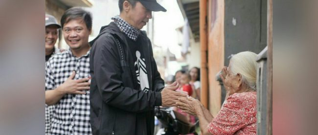 Calon Wakil Walikota Bogor Dedie A Rachim Saat Kunjungan Di Kelurahan Kebon Kelapa Kecamatan Bogor Tengah Kota Bogor (dok. KM)