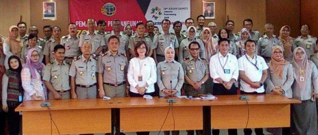 Jajaran Inspektorat Jenderal Kementerian Agraria dan Tata Ruang/Badan Pertanahan Nasional Republik Indonesia Bersama Jajaran BPN Kota Bogor (dok.KM)