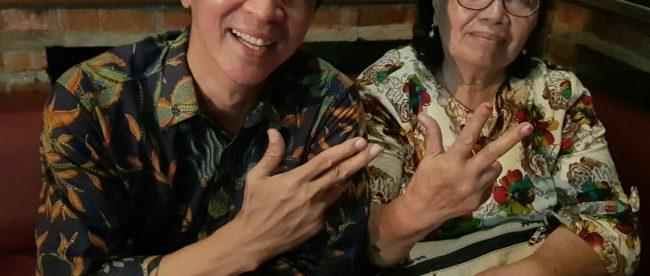 Calon Wakil Walikota Bogor Dedie A Rachim bersama Orita Rugun (dok. KM)