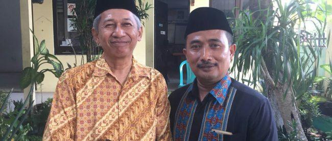 Sekcam Sukma Jaya, Mulyo, bersama Lurah Bakti Jaya, Pairin (dok. KM)