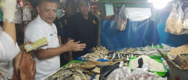 Razia pasar di Kabupaten Bogor oleh Polres dan Pemkab Bogor, Kamis 31/5/2018 (dok. KM)