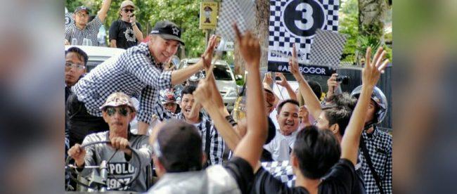 Calon Wakil Walkota Bogor, Dedie A. Rachim (dok. KM)