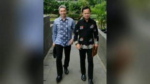Calon walikota dan wakil walikota bogor, Bima Arya dan Dedie Rachim (dok. KM)