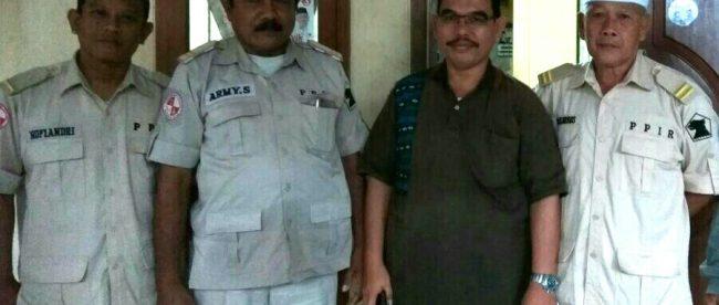 H. Rahmat Rangkuti Bersama Ketua PPIR Kota Bogor dan Jajarannya (dok.KM)