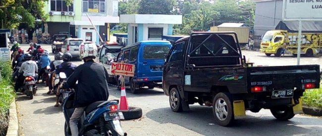Secure Parking PT. Atmosfir Kreasi Mandiri yang dikeluhkan elemen masyarakat di Pasar TU Kota Bogor (dok. KM)