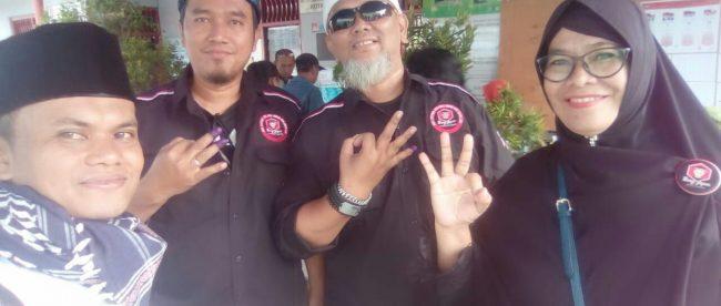 Ketua Bang Japar Komwil Depok didampingi Wakil Danwil, Komcam Kec. Sukma Jaya dan Humas BJP Jakarta Selatan (dok. KM)