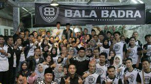Silaturahmi relawan Bala Badra di Waroeng Meet Up, Bogor Utara, Sabtu (2/6/2018).