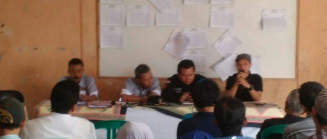 Bimbingan teknis KPPS Desa Sukamantri, Kecamatan Tamansari, Kabupaten Bogor, Senin 11/6/2018 (dok. KM)