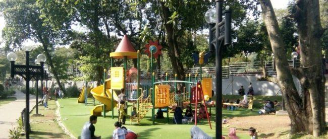 Taman Cibinong (Cibinong Situ Plaza) yang berlokasi di Jalan Raya Pemda, Cibinong, Bogor (dok. KM)