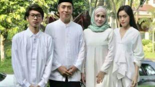 Calon Wakil Walikota Bogor Dedie A. Rachim bersama keluarga (dok. KM)
