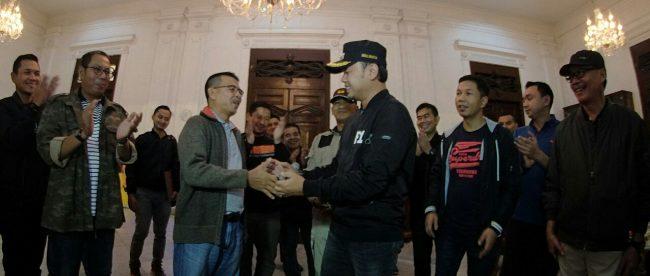 Bima Arya Sugiarto Kembali Ke Balaikota Bogor (dok.KM)