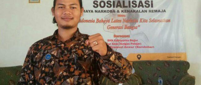 Ketua Presidium nasional BEM PTM Zona 3, Iksan Awaludin (dok. KM)