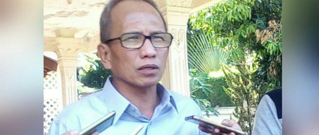 Plt Walikota Bogor Usmar Hariman usai pemeriksaan di Kantor Panwaslu Kota Bogor, Selasa 19/6/2018 (dok. KM)