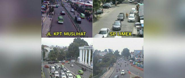 Kondisi lalu lintas di beberapa ruas di Kota Bogor, Rabu 20/6/2018 (dok. KM)