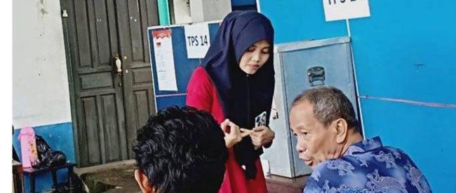 Suasana salah satu TPS pada pilihan kepala daerah Kota Tangerang di Kelurahan Margasari, Karawaci, Kota Tangerang 27/9/2018 (dok. KM)
