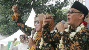 Bupati dan wakil bupati Bogor terpilih, Ade Yasin dan Iwan Setiawan (dok. KM)