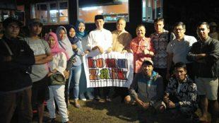 Wakil Walikota Bogor terpilih Dedie A. Rachim bersama salah satu komunitas di Kota Bogor (dok. KM)