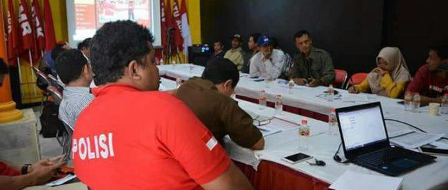 Diskusi Publik KRPK tentang penanganan kasus korupsi di Blitar, Rabu 18/7 (dok. KM)