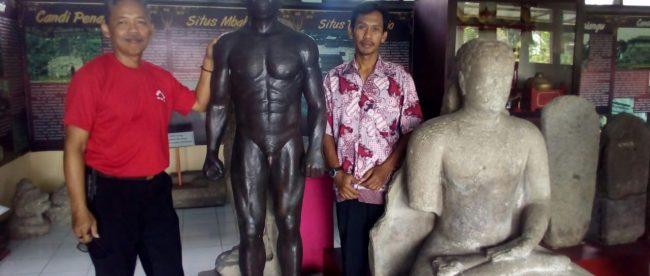 Pengelola Museum Wajakensis, Boyolangu, Tulungagung Jatim (dok. KM)