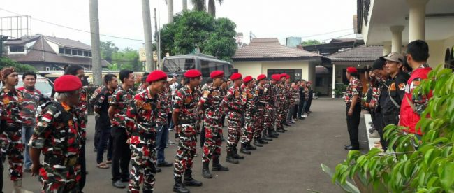 Silaturahmi Laskar LMPI Kota dan Kabupaten Bogor, Sabtu 28/7/2018 (dok. KM)