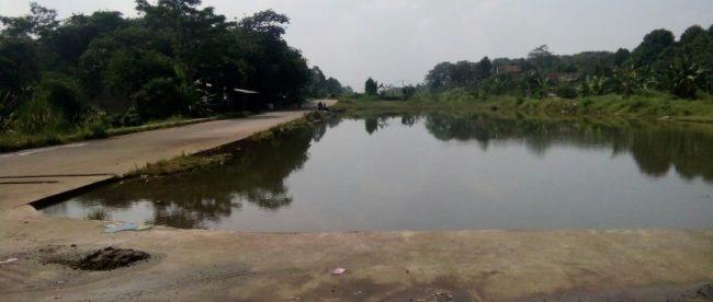Lokasi proyek pembangunan jalan Cibinong-Bojonggede-Tajurhalang, Selasa 10/7/2018 (dok. KM)
