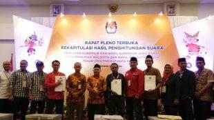 Rapat Pleno Terbuka Rekapitulasi Hasil Penghitungan Suara KPUD Kota Bogor, Kamis 5/7/2018 (dok. KM)