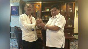 Ketua Umum PWRI Suriyanto PD bersama Komjen Pol (Purn) Susno Duadji (dok. KM)