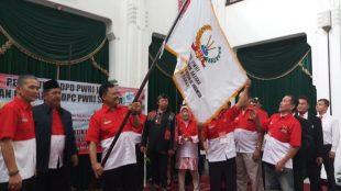 Prosesi Pengukuhan Pengurus DPD PWRI Jawa Barat di Bandung, 9/8/2018 (dok. KM)