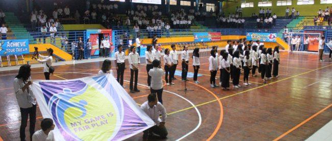 Suasana pembukaan Gamagudabo Championship 2018 di GOR Pajajaran Kota Bogor (dok. KM)