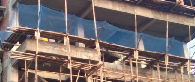 Pembangunan showroom dan bengkel di Jl. Jenderal Sudirman, Kota Bogor, yang diduga melanggar IMB nya (dok. KM)