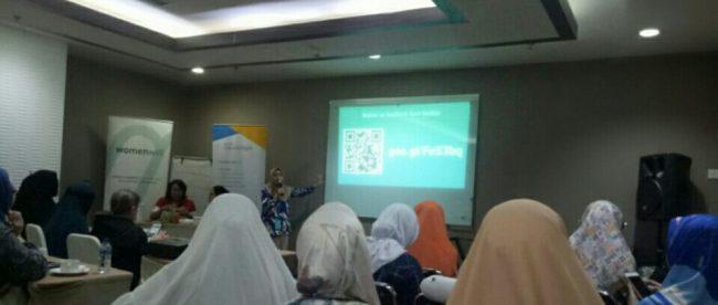 Antusiasme peserta saat mengikuti pelatihan Gapura Digital di Hotel Santika Depok, 18/8/2018 (dok. KM)