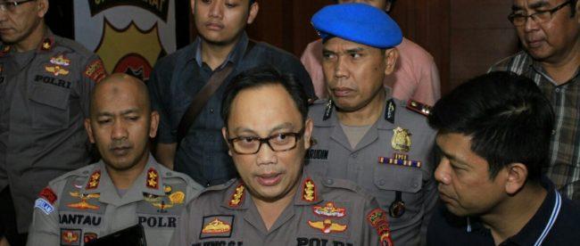 Kapolresta Bogor Kota Kombes Pol. Ulung Sampurna Jaya memberikan keterangan pers di Mako Polresta Bogor Kota, Kamis 2/8 (dok. KM)