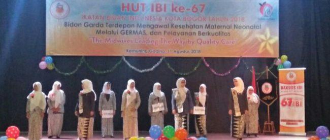 Perayaan HUT IBI ke-67 di Gedung Keumuning Gading, Kota Bogor, Sabtu 11/8/2018 (dok. KM)