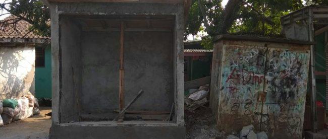 Gardu PLN yang tidak berizin di wilayah Desa Malang Nengah, Pagedangan, Kabupaten Tangerang (dok. KM)