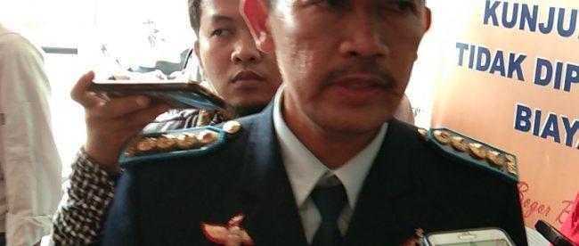 Kepala Lapas Kelas IIA Paledang Gunawan Sutrisnadi (dok. KM)