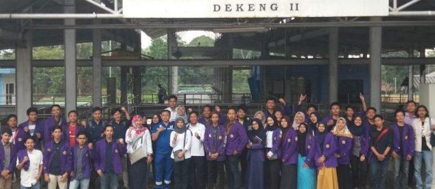 Kunjungan Langsung Mahasiswa Unpak Bogor Ke Pengelolaan Air PDAM Tirta Pakuan Kota Bogor di Dekeng (dok.KM)