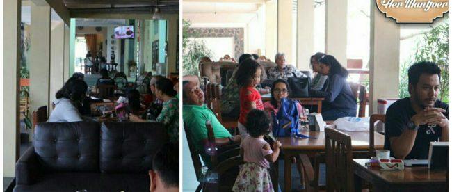 Suasana di restoran Kedai Aer Mantjoer, Kota Bogor (dok. KM/instagram @kedaiaer.mantjoer)