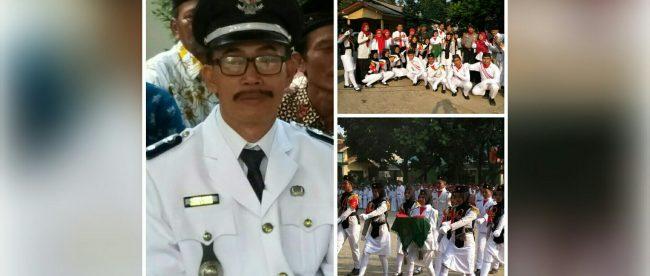 Kades Kalisuren Tajurhalang Odih Iyas, tim paskibra dan petugas upacara (dok. KM)