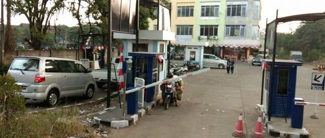 Secure Parking PT. Atmosfir Kreasi Mandiri di Pasar Induk Kemang, Kota Bogor (dok. KM)