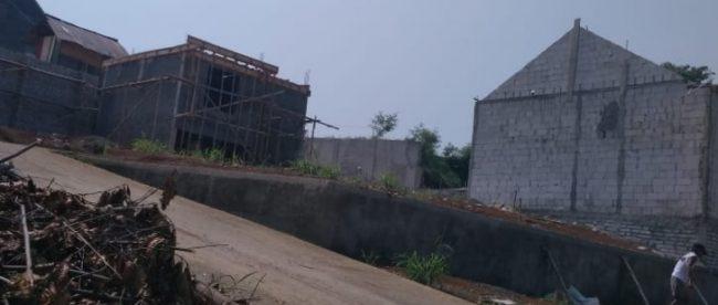 Pembangunan perumahan Grya Abdi Cilendek, Kota bogor (dok. KM)