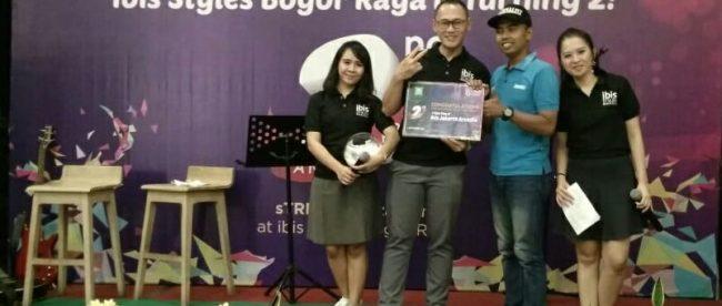 Pemberian Door Prize Saat Aniversary Ke-2 Hotel Ibis Styles Bogor, Jumat7/9 (dok. KM)