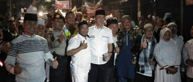 Wakil Walikota Bogor terpilih 2018-2023 Dedie Rachim saat memperingati Tahun Baru Islam, Senin 10/9/2018 (dok. KM)