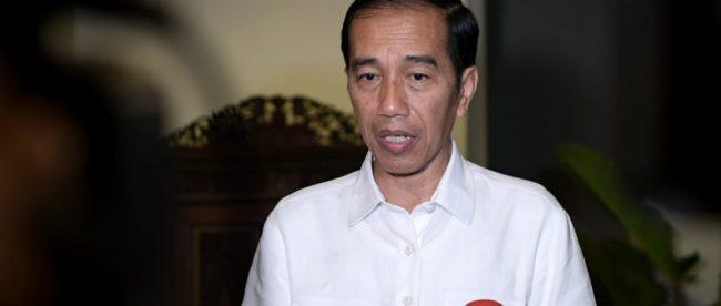 Presiden Joko Widodo menyampaikan dukacita mendalam atas bencana gempa dan tsunami yang terjadi di Sulawesi Tengah, tepatnya di Kabupaten Donggala (dok. Twitter @KemensetnegRI)