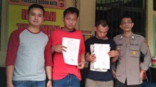 Pengguna dan penjual sabu yang ditangkap Satres Narkoba POlresta Bogor Kota, September 2019 (dok. KM)