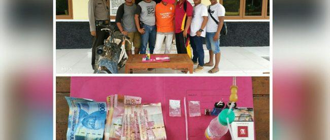 Pelaku pengedar narkotika jenis sabu ditangkap Reskrim Tempilang (dok. KM)