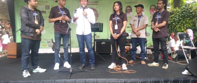 Walikota Bima Arya saat memberikan sambutan di acara Hari Kopi Sedunia dengan Komunitas Kopi Bogor, Minggu 30/9/2018 (dok. KM)