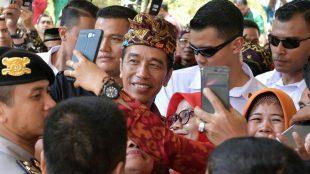 Presiden Joko Widodo saat menghadiri Temu Karya Nasional Gelar Teknologi Tepat Guna (TTG) XX dan Pekan Inovasi Perkembangan Desa/Kelurahan (PINDesKel) Tahun 2018, Jumat 19/10.